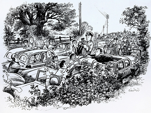 The Aa Man and the Holiday Queues