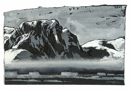 Drawing For Mist In Grandidier Channel