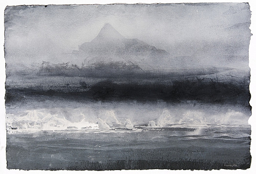 Low Mist and Mountain