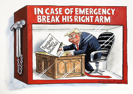 In Case of Emergency Break His Right Arm