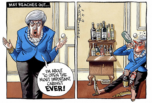 May Reaches Out...