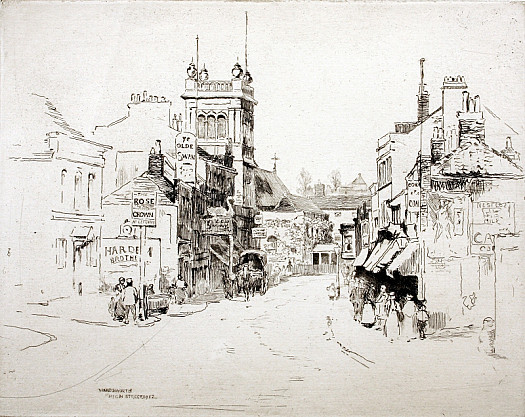 Wandsworth High Street, 1912