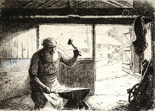 The Blacksmith, C1913