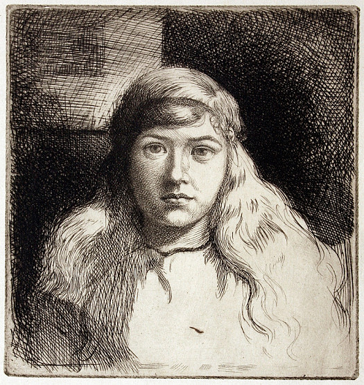 Girl In a Headband, C1914