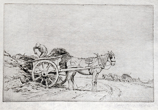 The Manure Cart, 1919