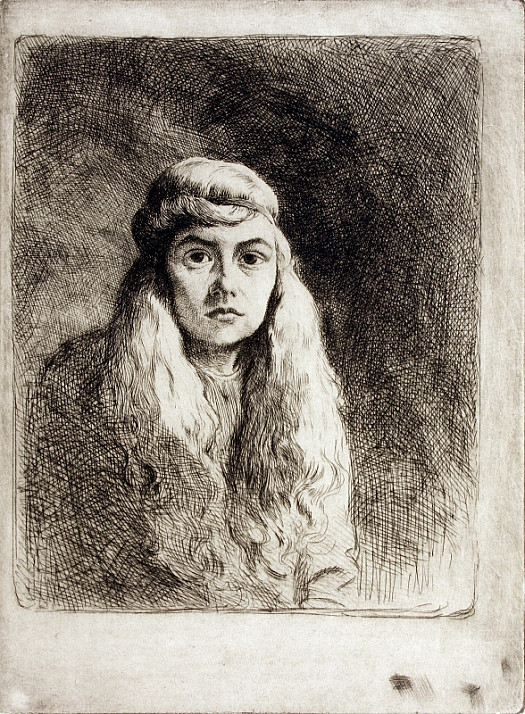 Portrait of a Girl In a Headband, C1914