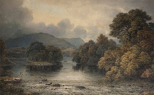 Loch Katrine, Scotland (Fishing the Weir Pool)