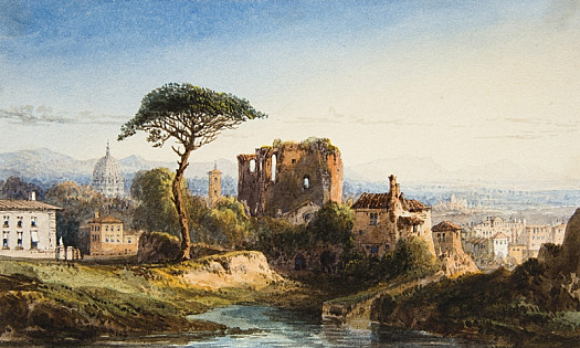 View In the Environs of Rome