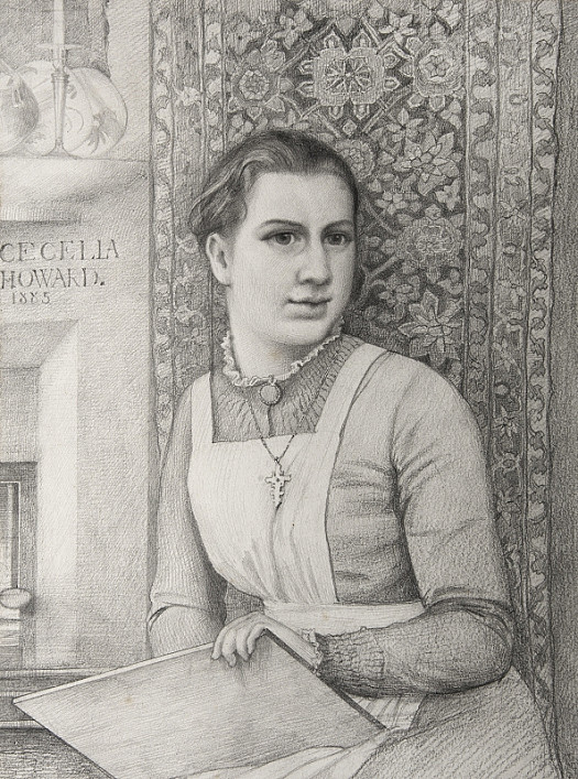 Portrait of Cecelia Howard, the Artist's Daughter