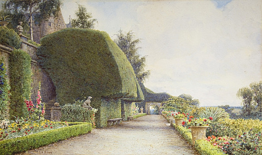 The Terrace, Drummond Castle, Perthshire
