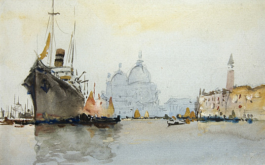 Mouth of the Grand Canal, Venice