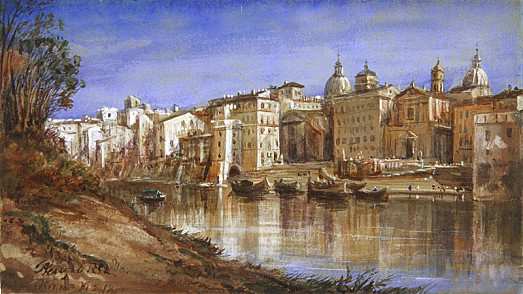 The Banks of the Tiber