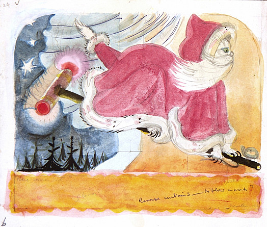 'Here Comes Santa Claws!'