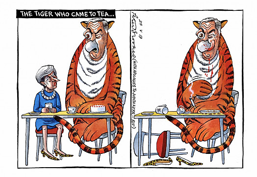 The Tiger Who Came To Tea ...