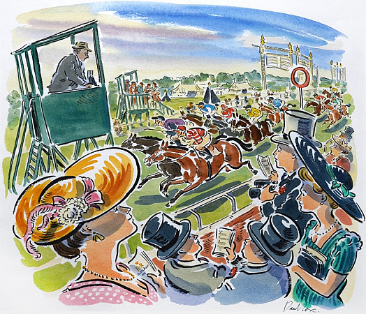 Finishing Line, Ascot