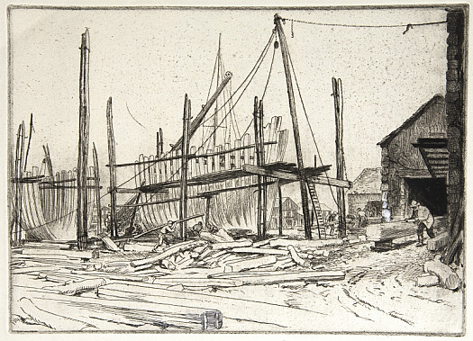 The Boat Building Yard