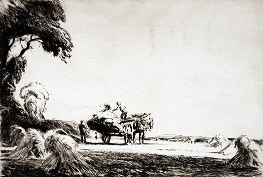 Gathering Stooks II, C1921