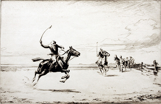 Polo On the Sands, 1922