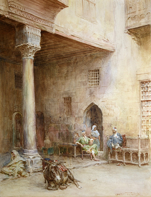 A Courtyard In Cairo
