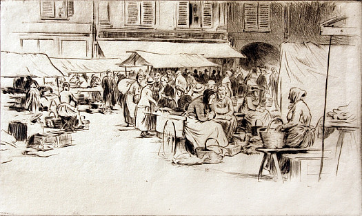 French Market, C1927