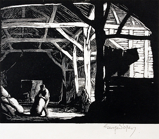A Sussex Barn, 1929