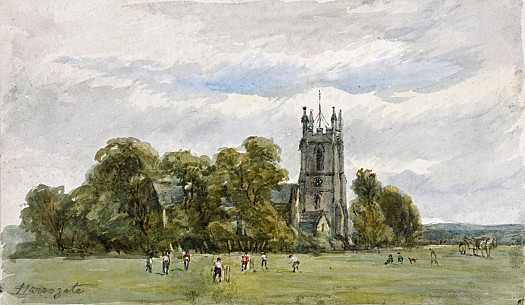 Cricket On the Stray, In Front of Christ Church, High Harrogate