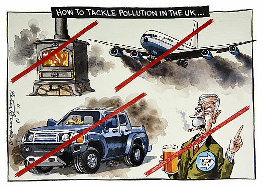 How to Tackle Pollution in the UK