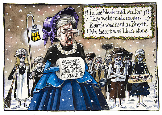 In the bleak mid -winter