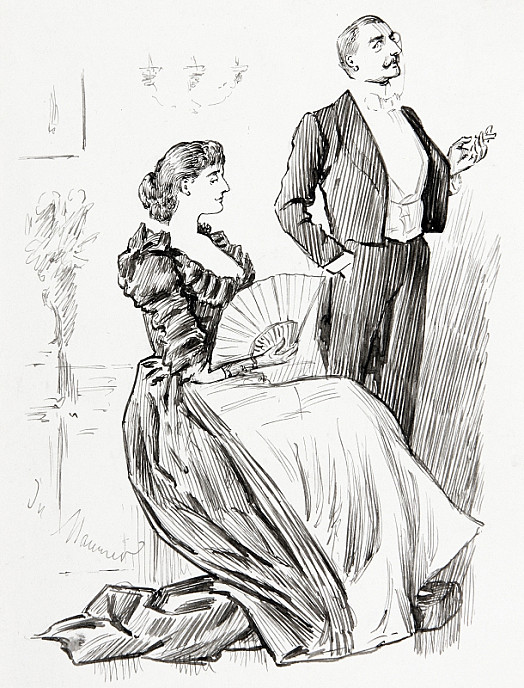 A Compromise and a CompensationLook Here Maggie. You Say You Want to Come with Me to ParisMerely to Order Some New Frocks - Why You Can Get Everything You Require In Bond Street''Oh, Thanks Dearest! That's All I Wanted!'
