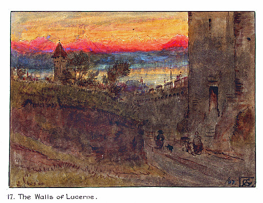 The Walls of Lucerne