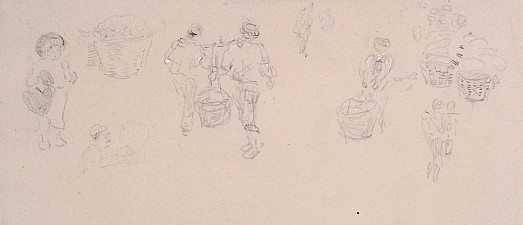 Figures Carrying Baskets
