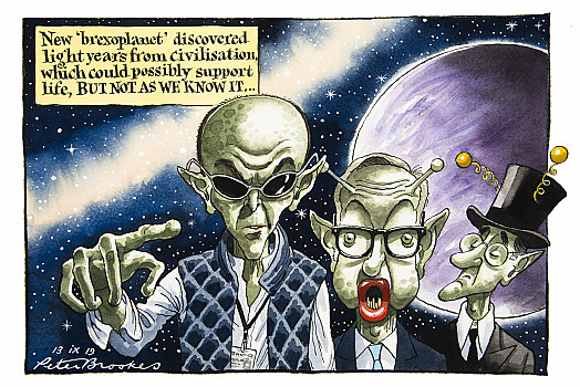 New 'brexoplanet' discovered light years from civilisation, which could possibly support life, BUT NOT AS WE KNOW IT