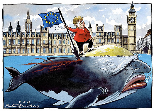 Harpooning the Boris Whale