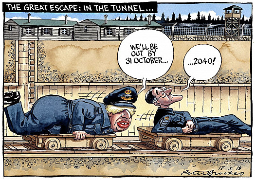 The Great Escape: In the Tunnel...
