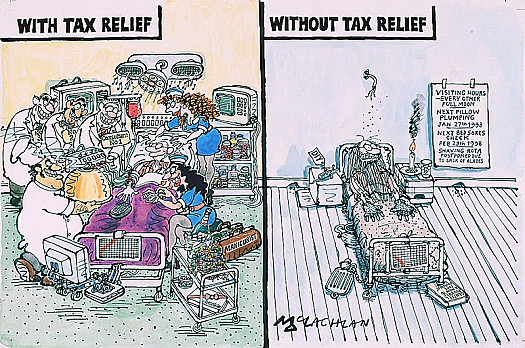 With Tax ReliefWithout Tax Relief
