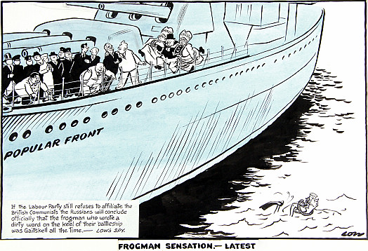 'Frogman Sensation. – Latest'