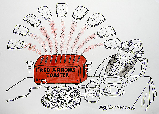 Red Arrows Toaster