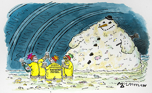 Sewer Maintenance Fatberg Patrol