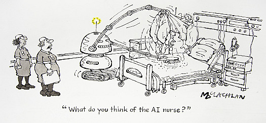 What do you think of the AI Nurse?