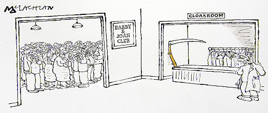 Darby & Joan Club Cloakroom