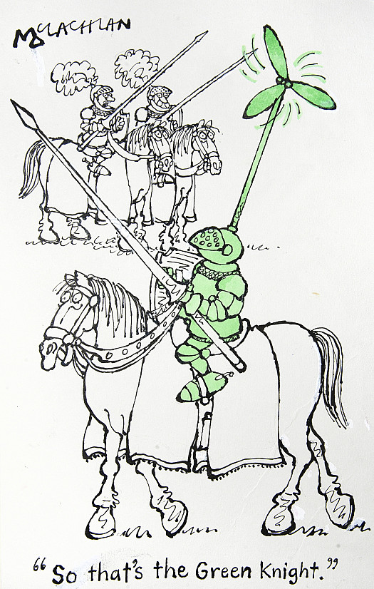 So That's the Green Knight