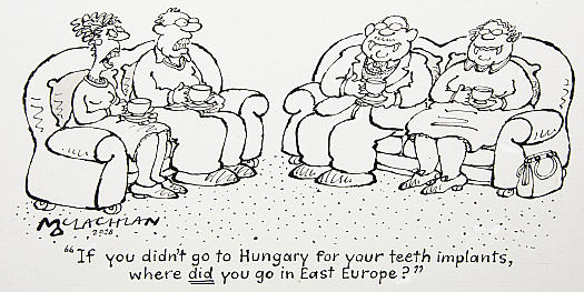 If You Didn't Go to Hungary For Your Teeth Implants, Where Did You Go In