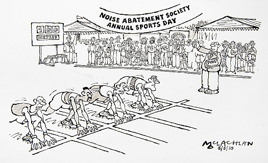Noise Abatement Society Annual Sports Day