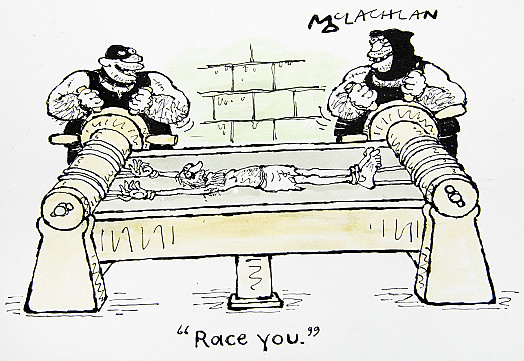 Race you