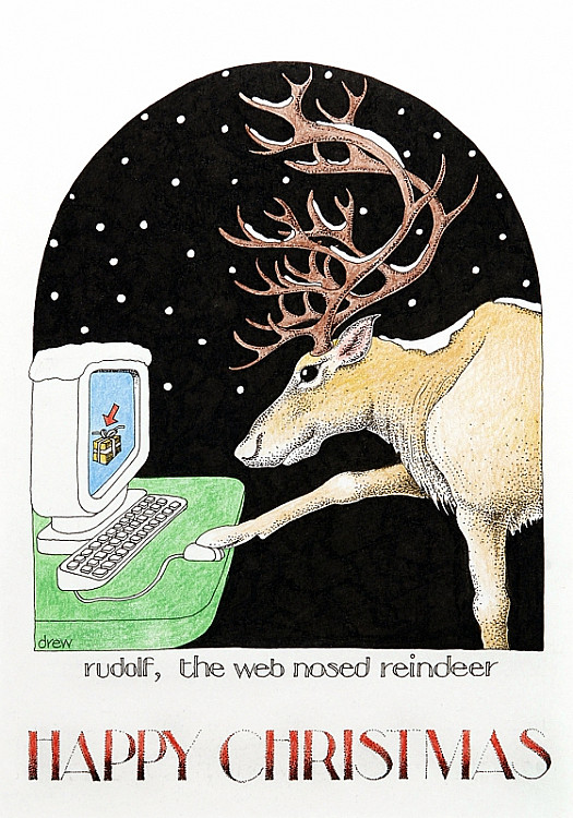 Rudolf the Web Nosed Reindeer