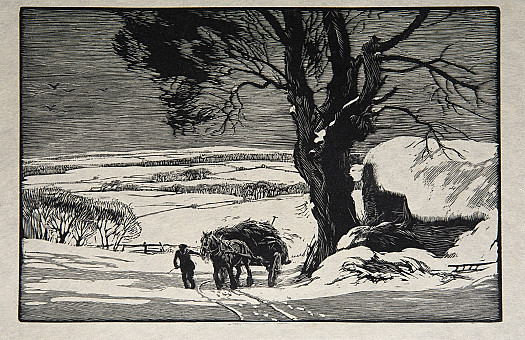 A Winter Morning, 1940