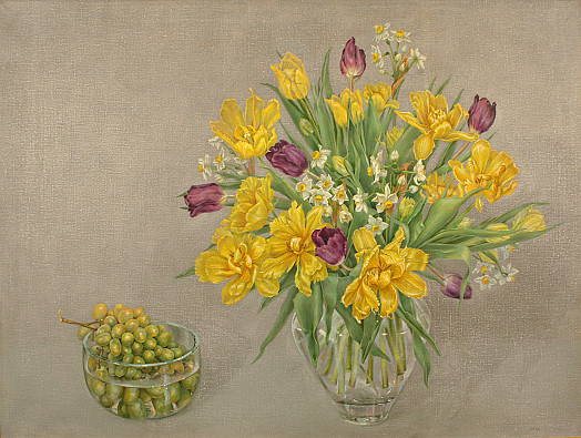 Tulips and Grapes