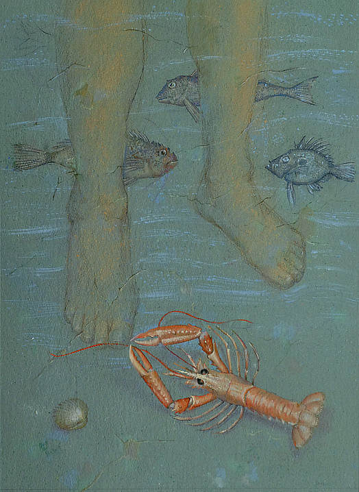 Franco the Fisherman's Feet - a Sexy and Loveable Langoustine