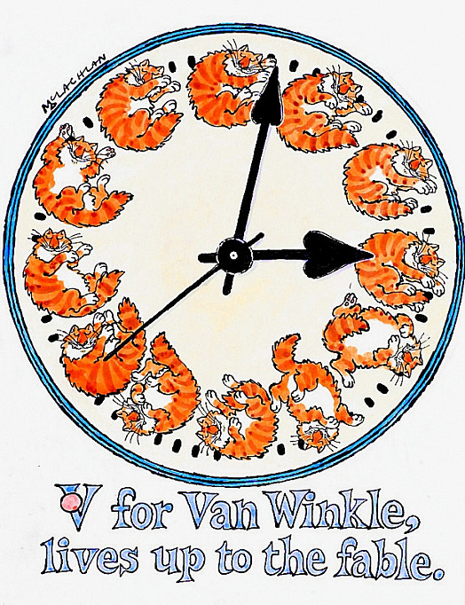 V Is For Van WinkleLives Up to the Fable