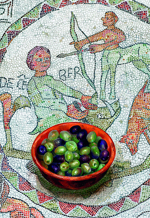 Olives On Otranto Mosaics - December